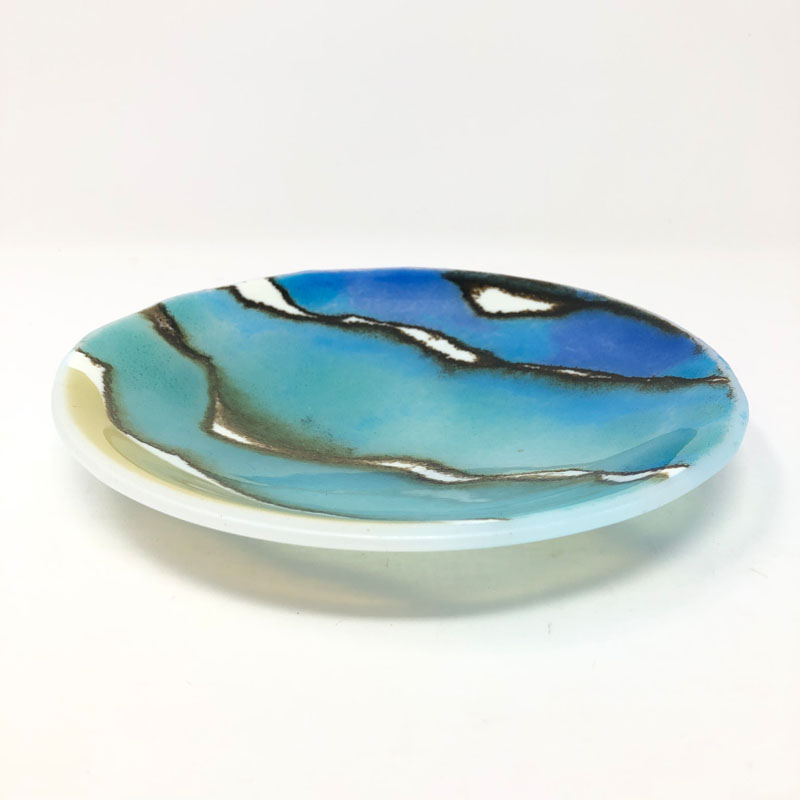 SHI291, Sand, Sea and Surf I shallow bowl