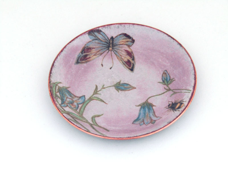 MCA193, Enamel Trinket Dish