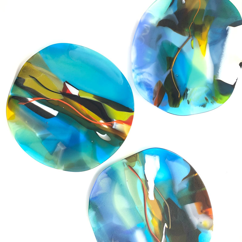 SHI303, Abstract Squeeze Platter III