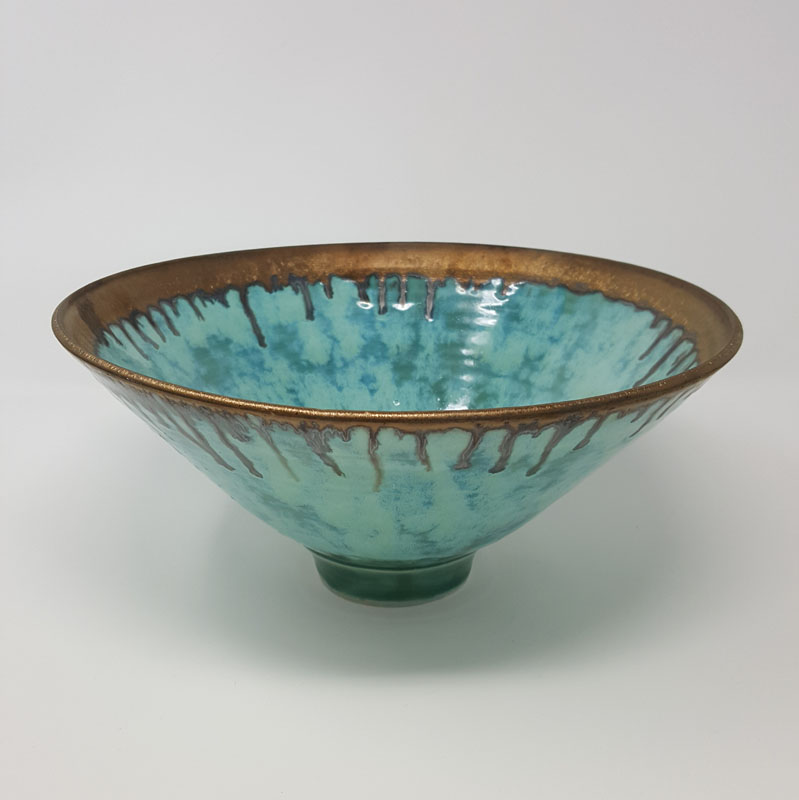 BRI059, Large Summer Clouds Bowl
