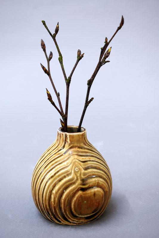 TWE010, Woodland Bud Vase