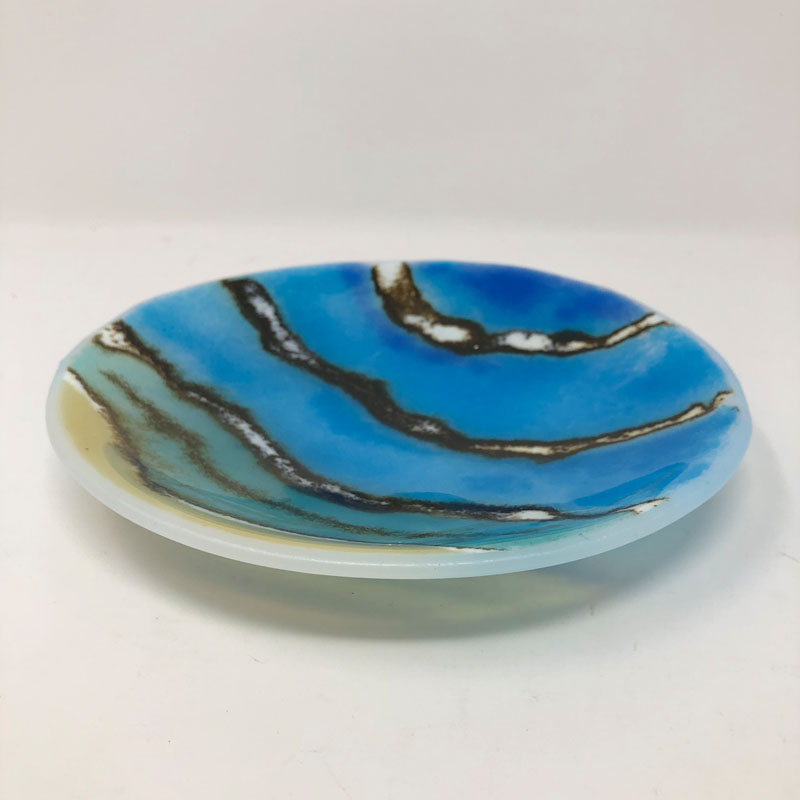 SHI293, Sand, Sea and Surf III shallow bowl