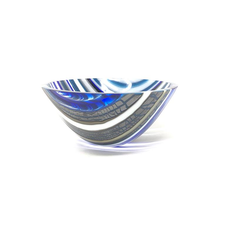 SHI077, Steel blue drop vessel