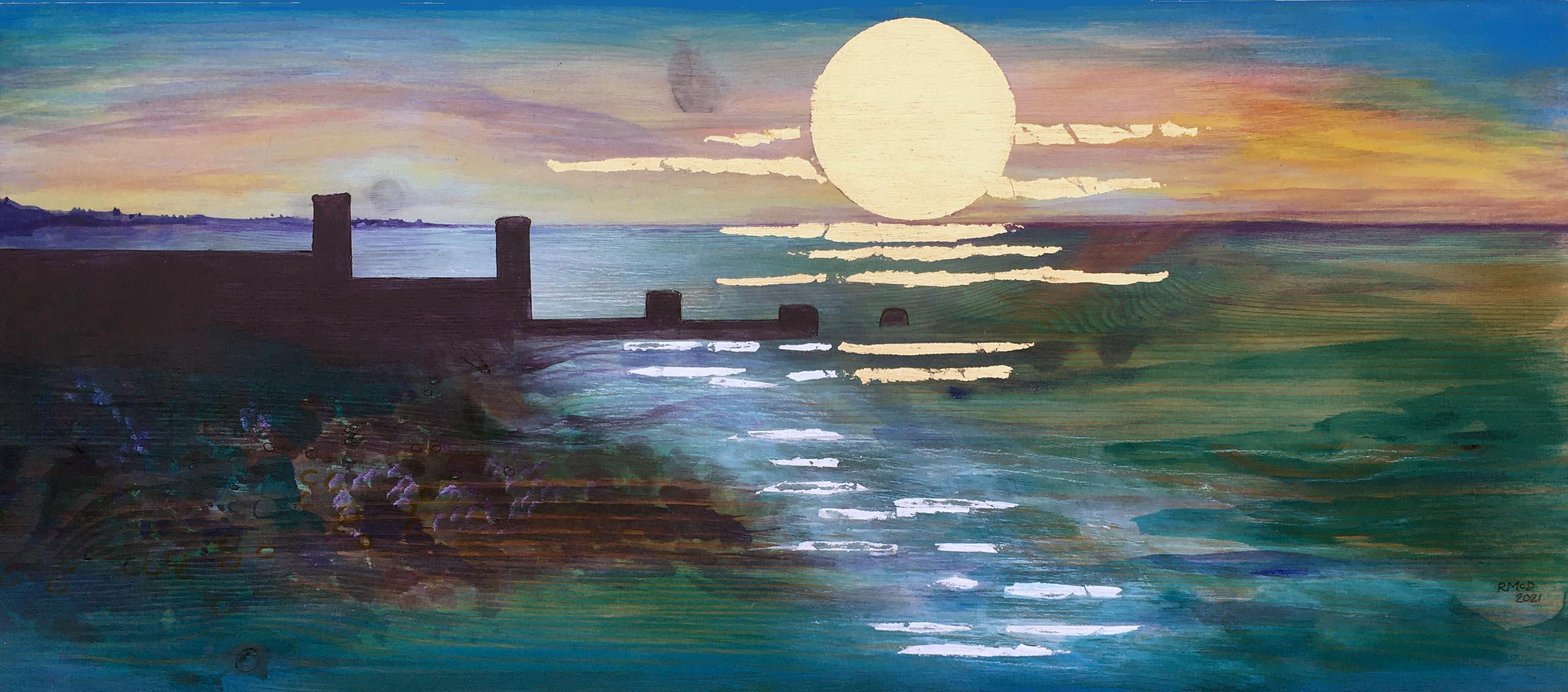 MCD183, Winter Sunset