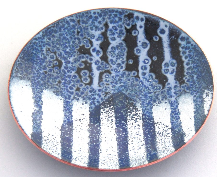 MCA161, Blue and White Trinket Dish