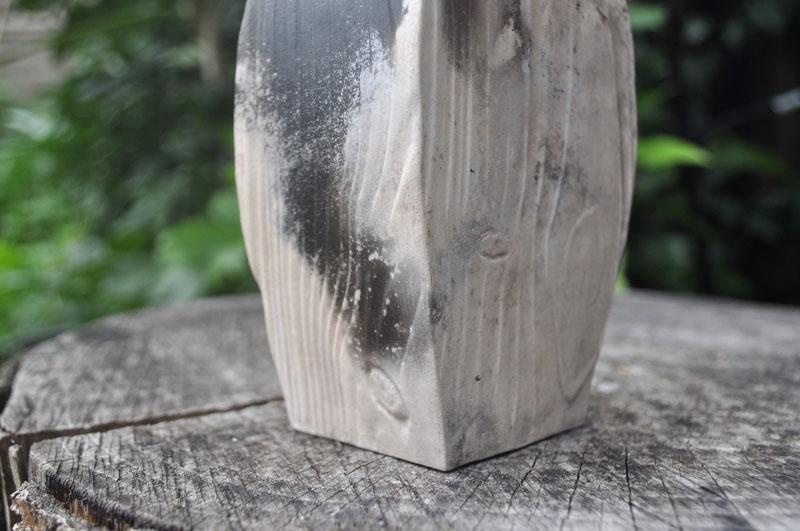 TWE013, Pit Fired Flow Vase 1