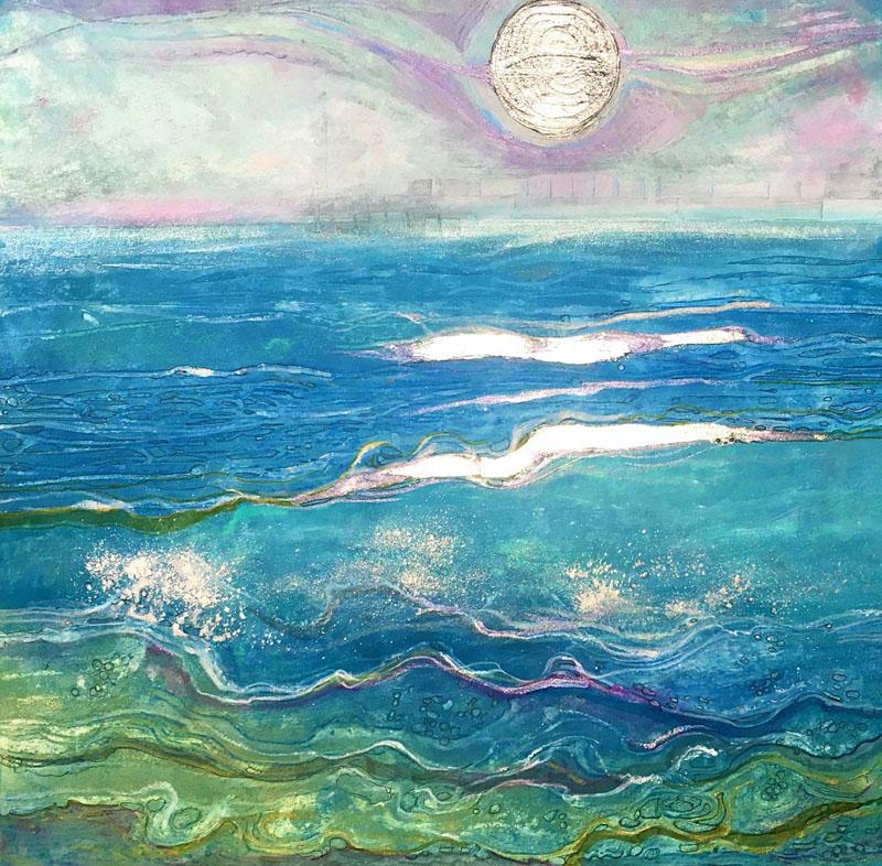 MCD190, Moonlit Spring Sea