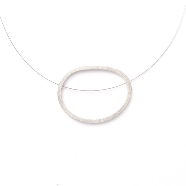 WES168, Single Pebble necklace
