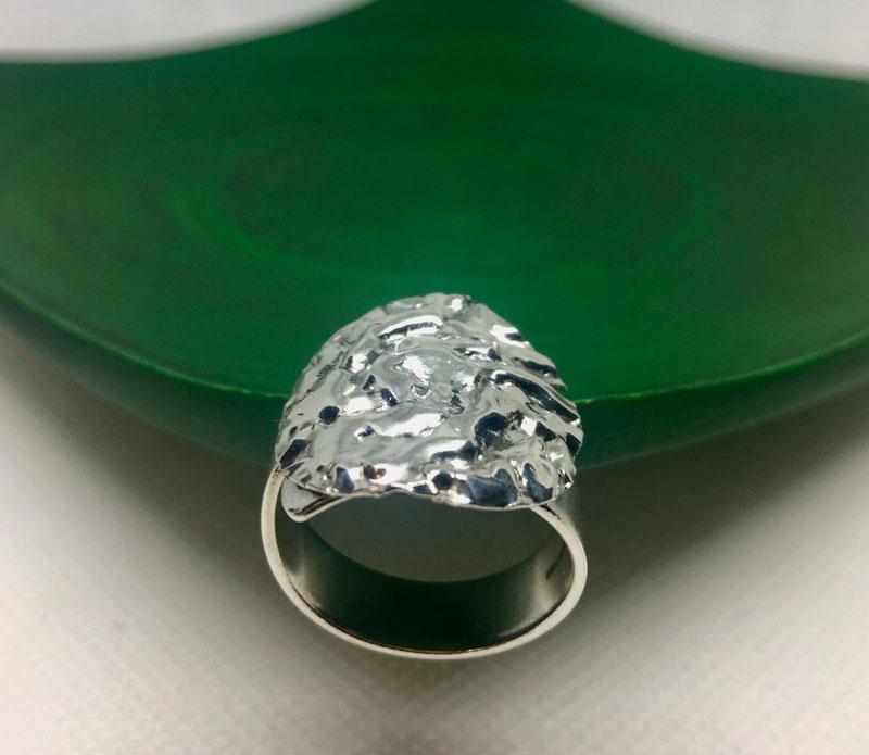 POW013, Wrinkled Circle Ring