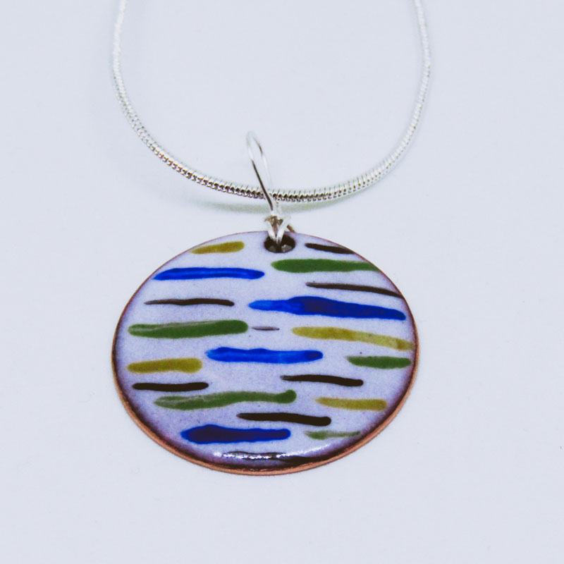 MCA191, Multi Striped Pendant 2