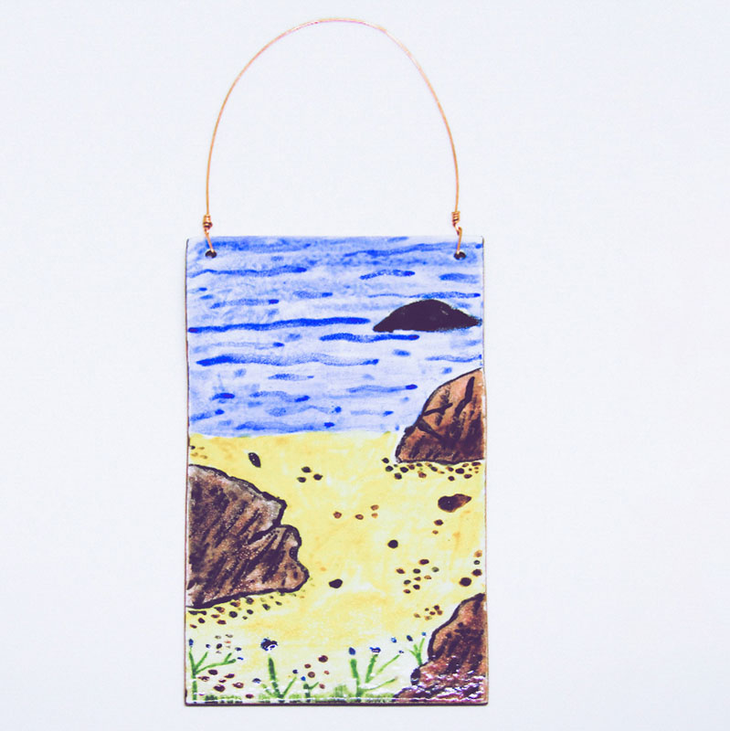 MCA183, Beach Wall Hanging