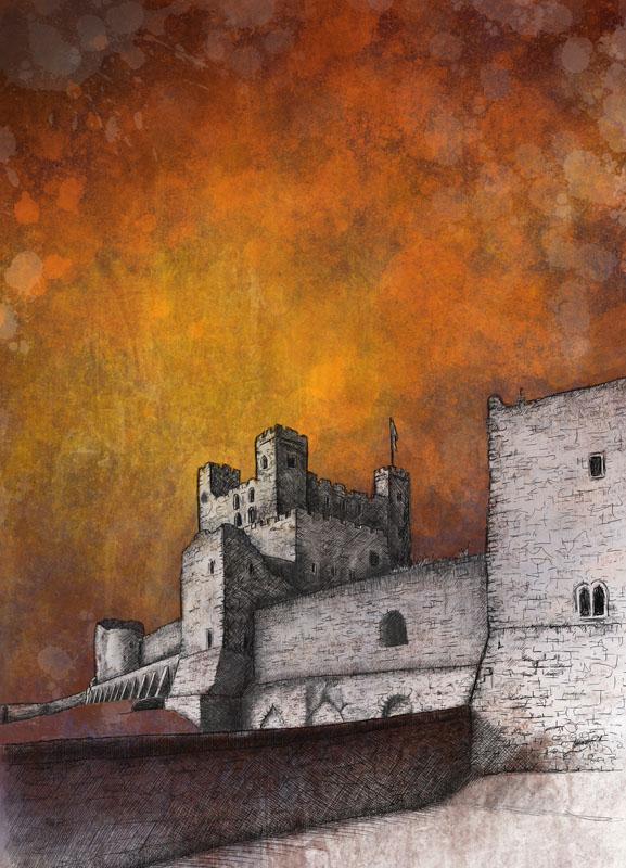 COT003, Rochester Castle 1/10