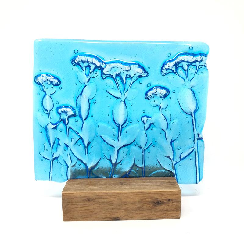 SHI334, Turquoise Autumn Joy block
