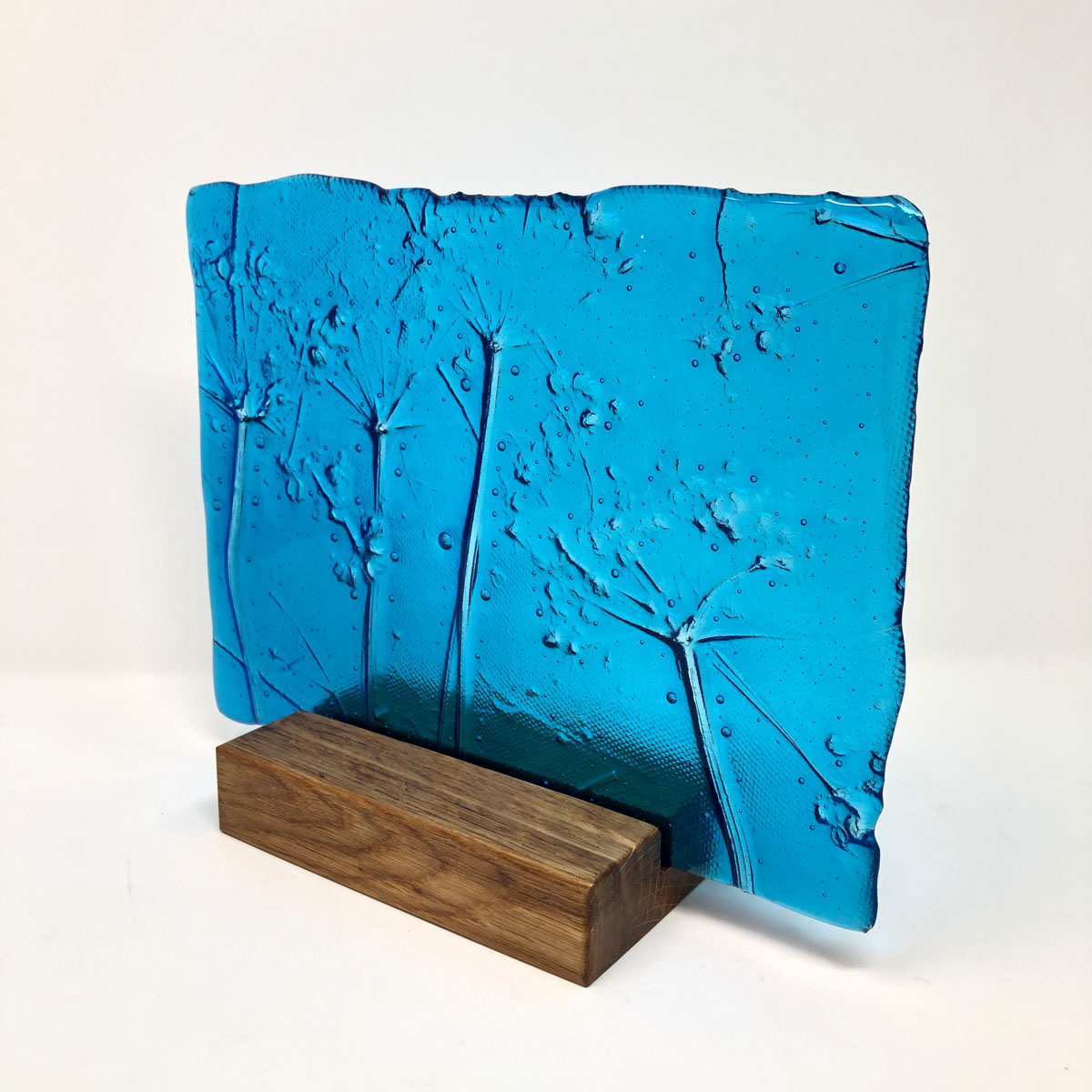 SHI272, Turquoise Hedgerow in block