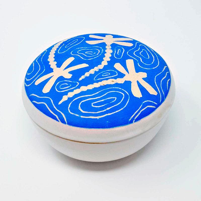 BRI088, Blue Dragonfly Box