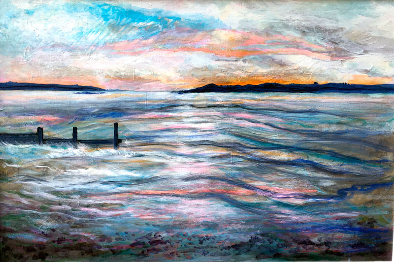 MCD161, Estuary Evening