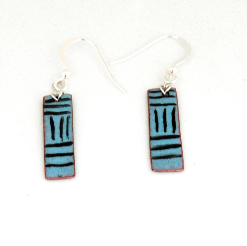 MCA205, Turquoise earrings
