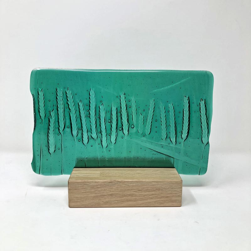 SHI182, Emerald green corn block