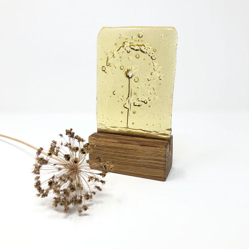 SHI313, Amber Single Allium block