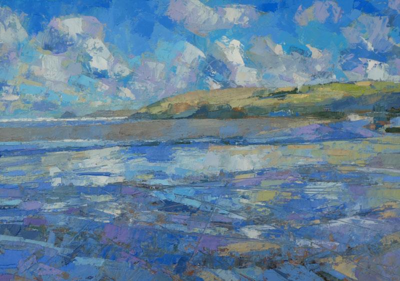 HEB999, Bright Morning Perran Beach