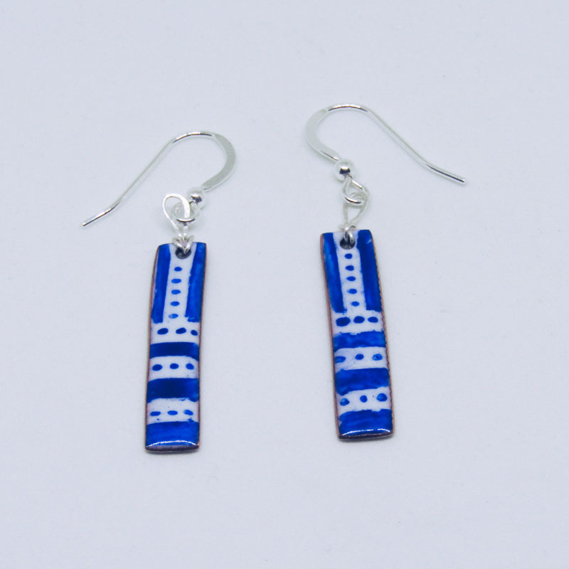 MCA187, Azure Earrings