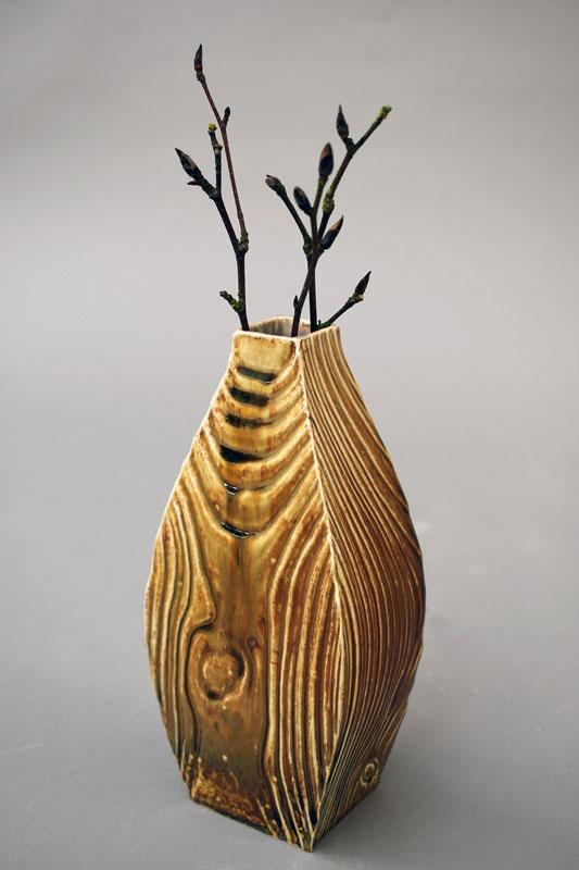 TWE005, Woodland Flow Vase