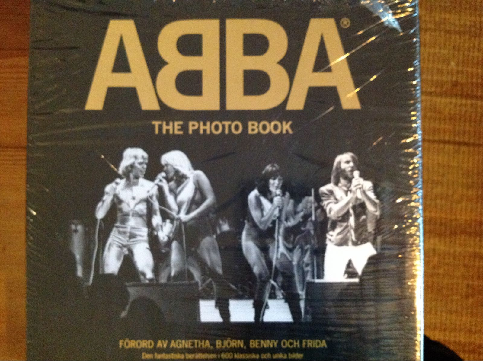 Bok - ABBA The Photo Book (second hand, vintage, retro)