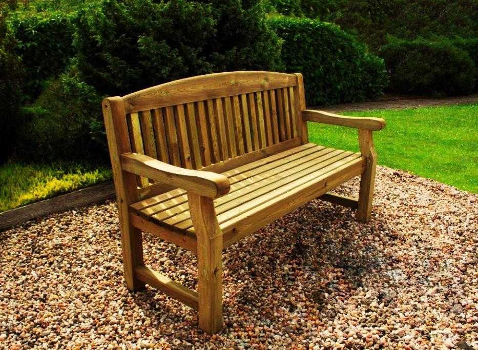 Straight Garden Bench