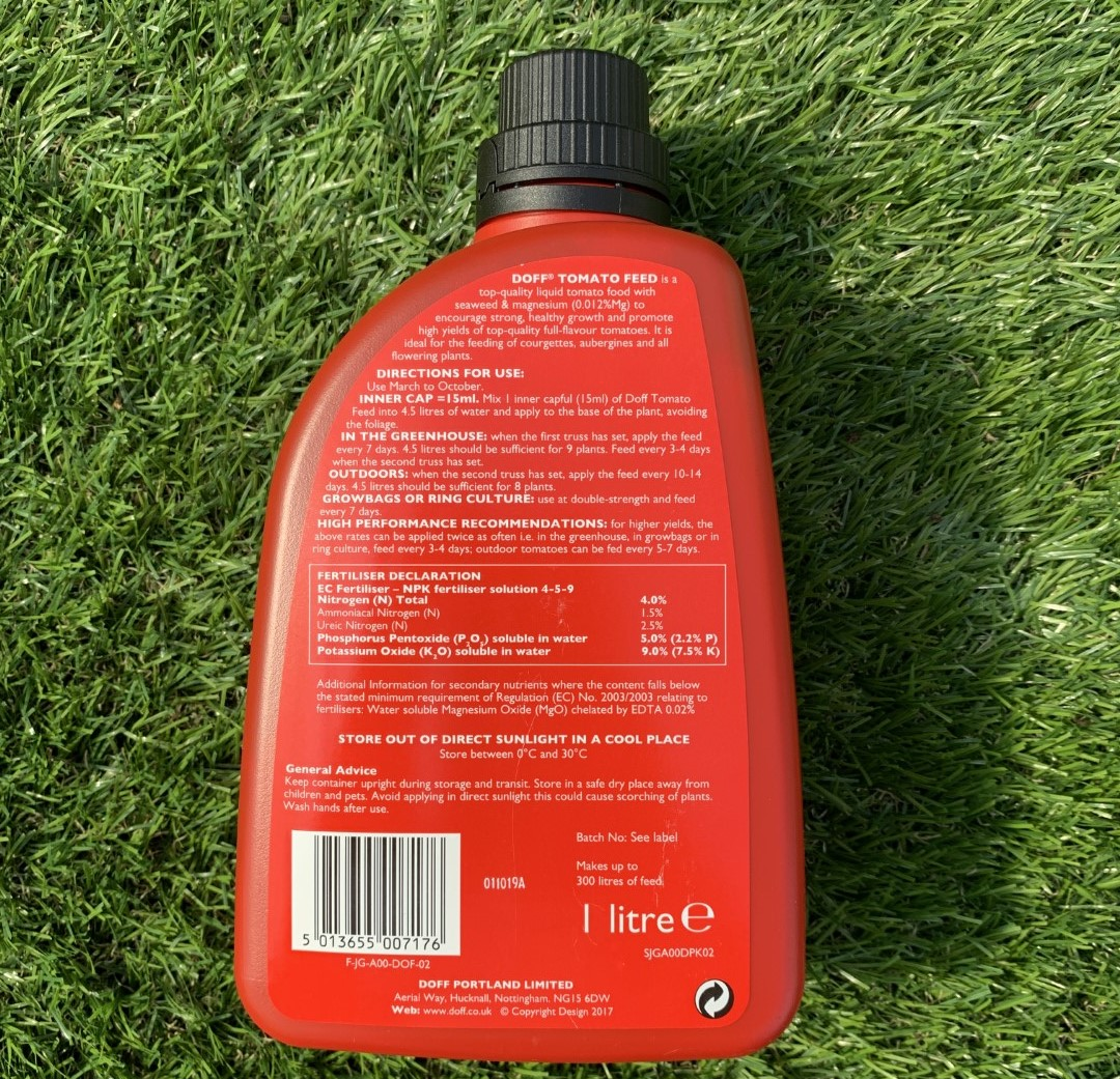 Doff Concentrate Tomato Feed - 1ltr