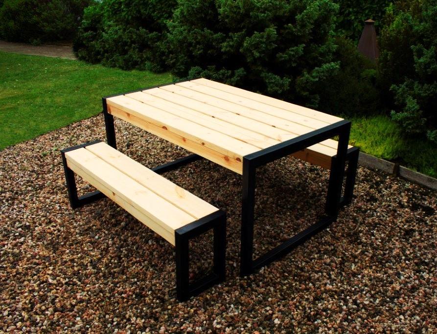Hybrid Table & Bench Set