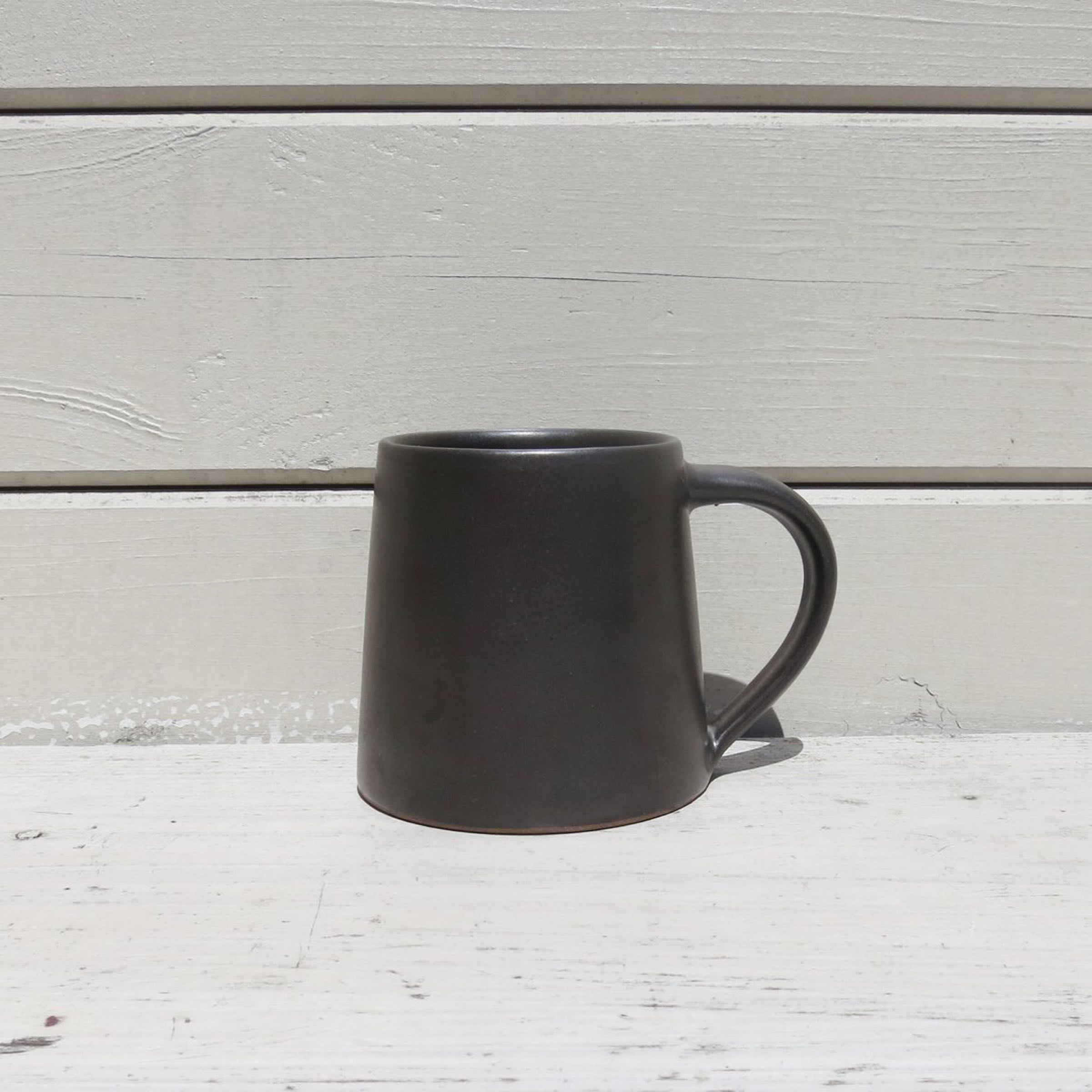 Stoneware Mug Dark Brown
