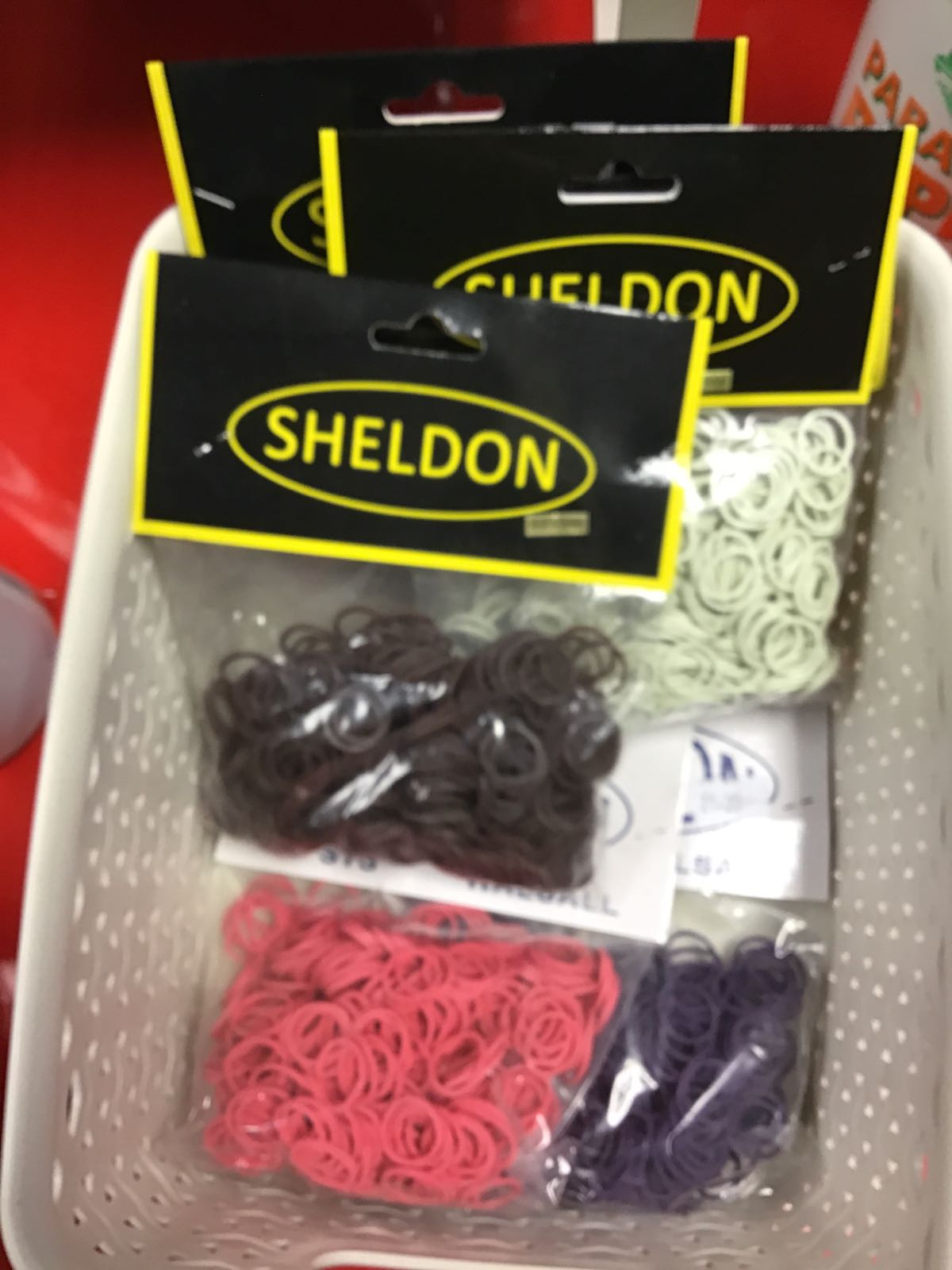 Plaiting bands Sheldon