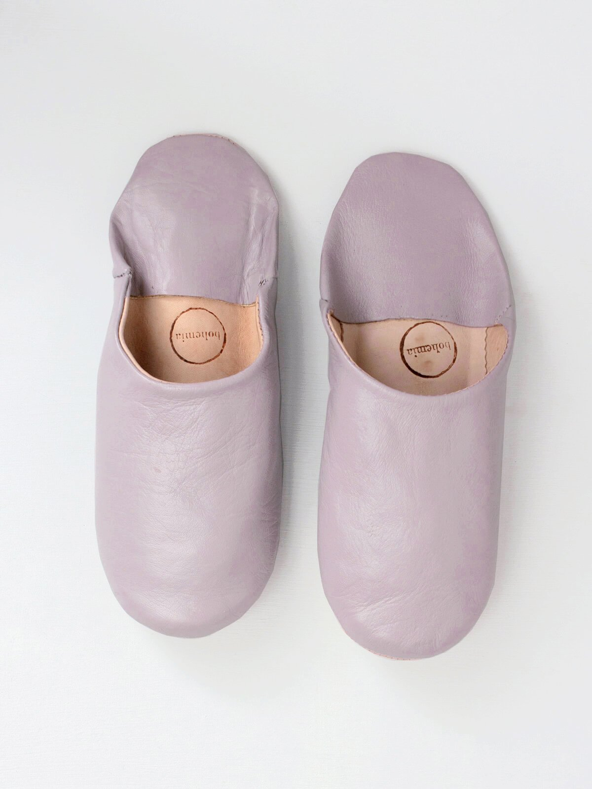 Moroccan Babouche Slippers Lilac