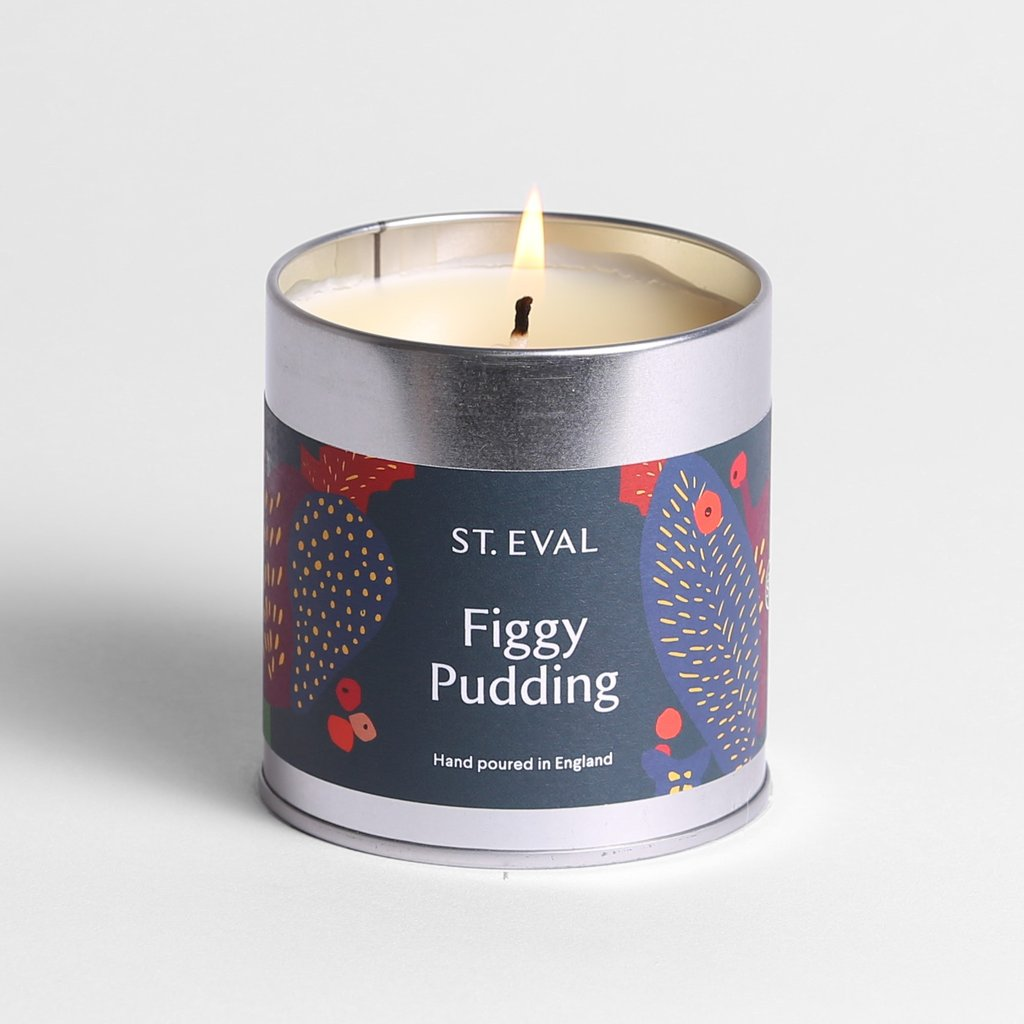 Figgy Pudding Scented Tin Candle
