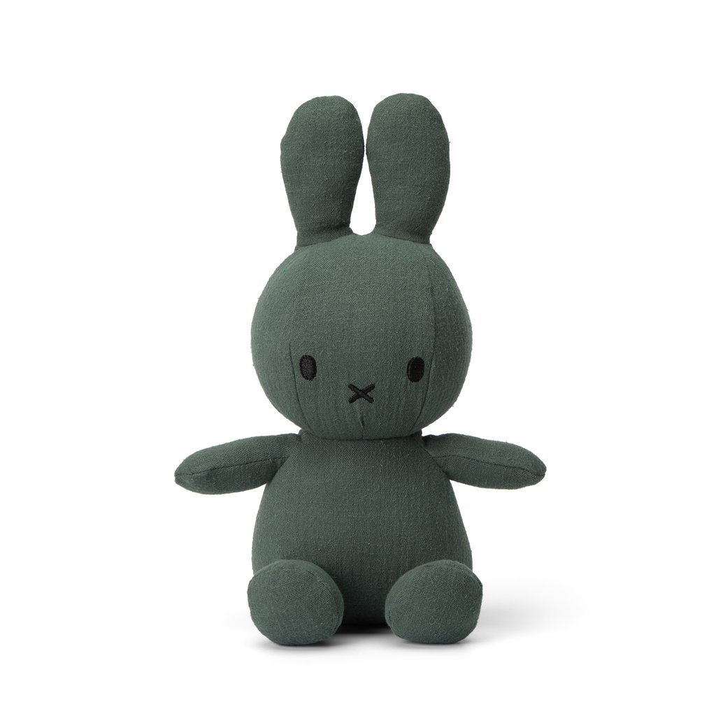 Sitting Miffy Toy - Mousseline Green