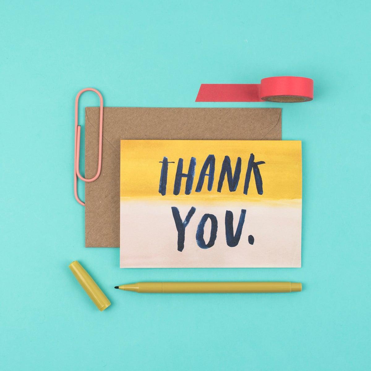Thank you - Letterbox Lane