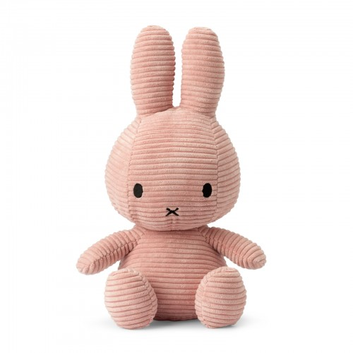 Sitting Miffy  Large - Pink Corduroy