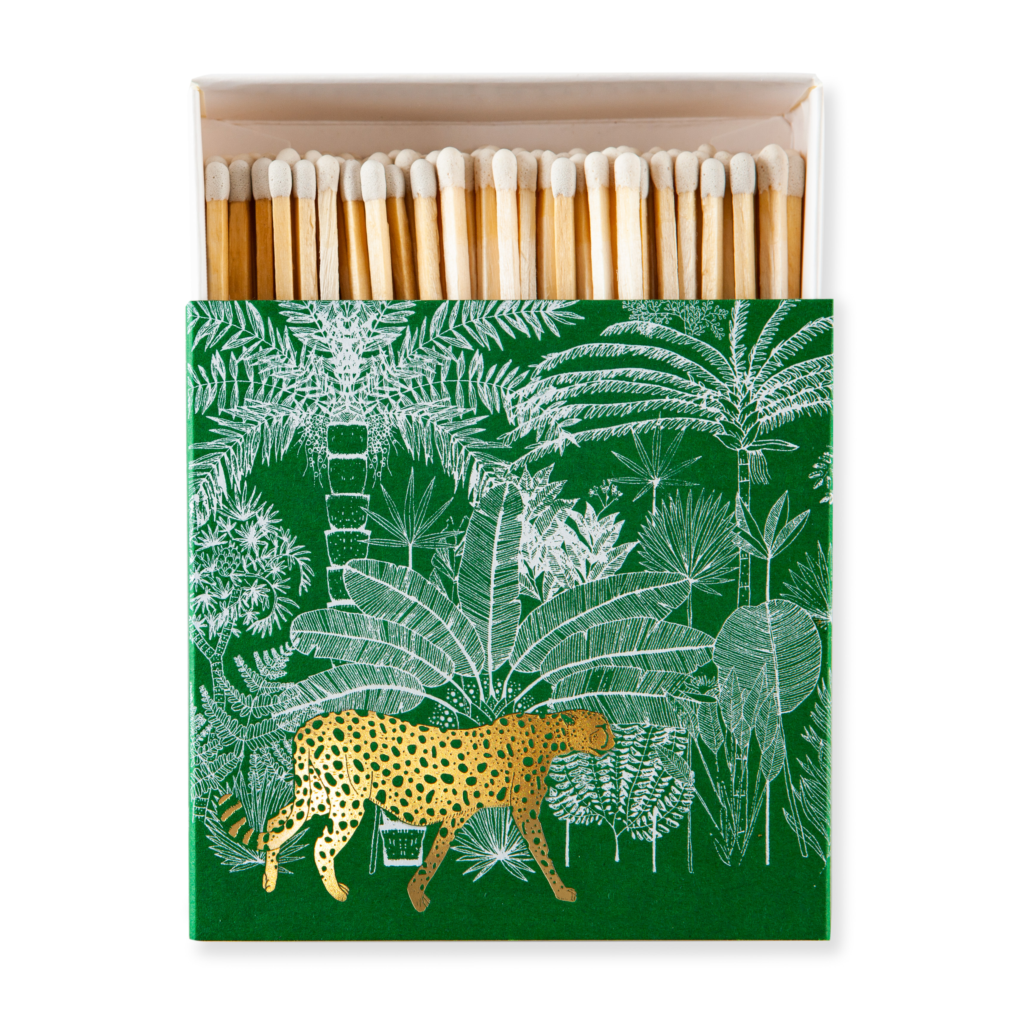 Cheetah Green Luxury boxed matches