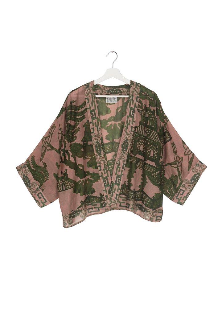 Giant Willow Green Kimono