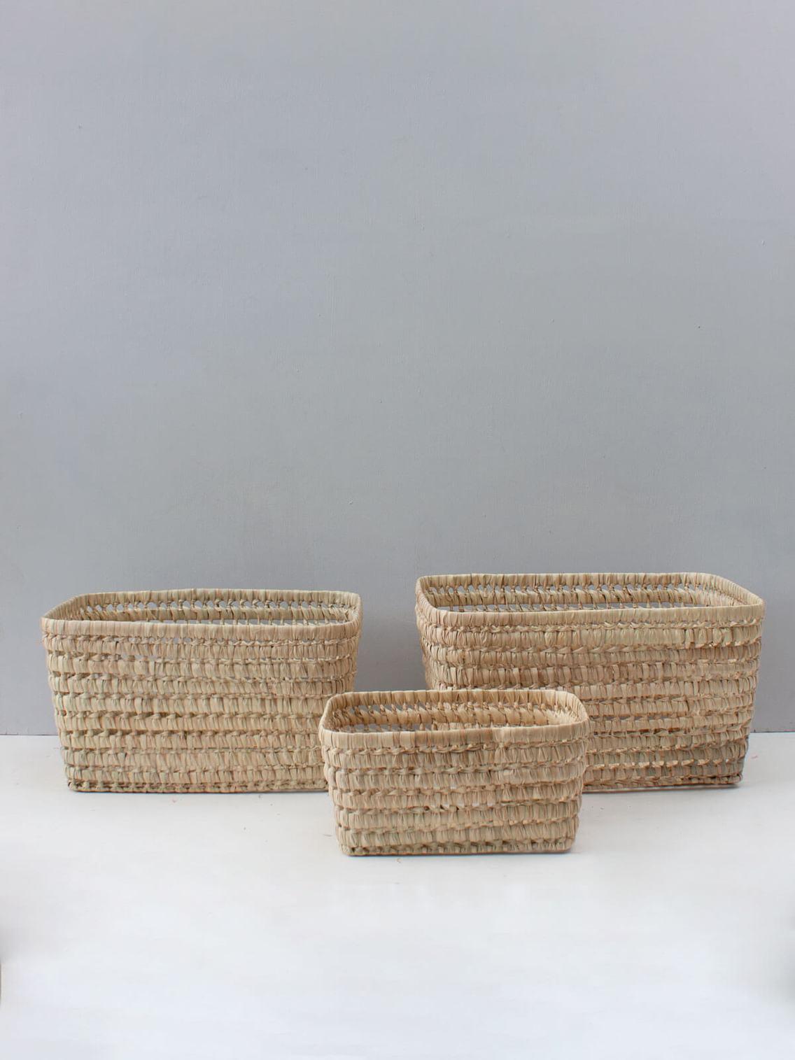 Open weave storage basket SMALL