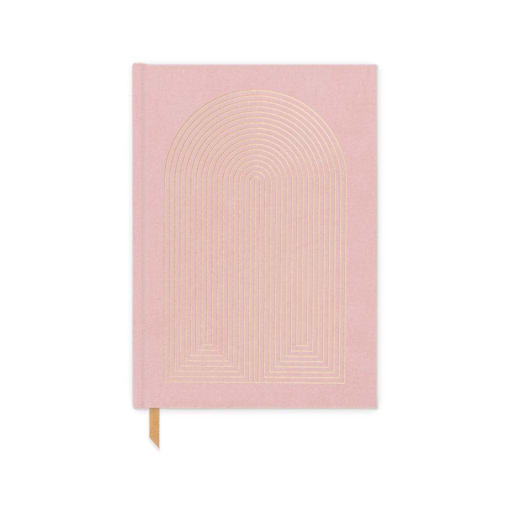 Pink Cloth Sunbeam Journal