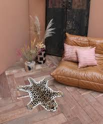 Loony Leopard Rug Small