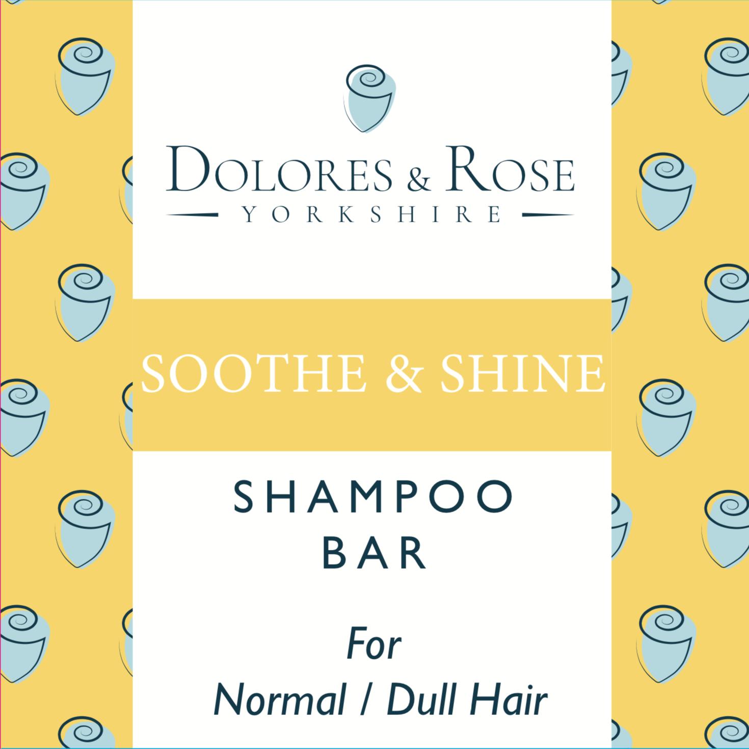 Soothe & Shine Shampoo Bar