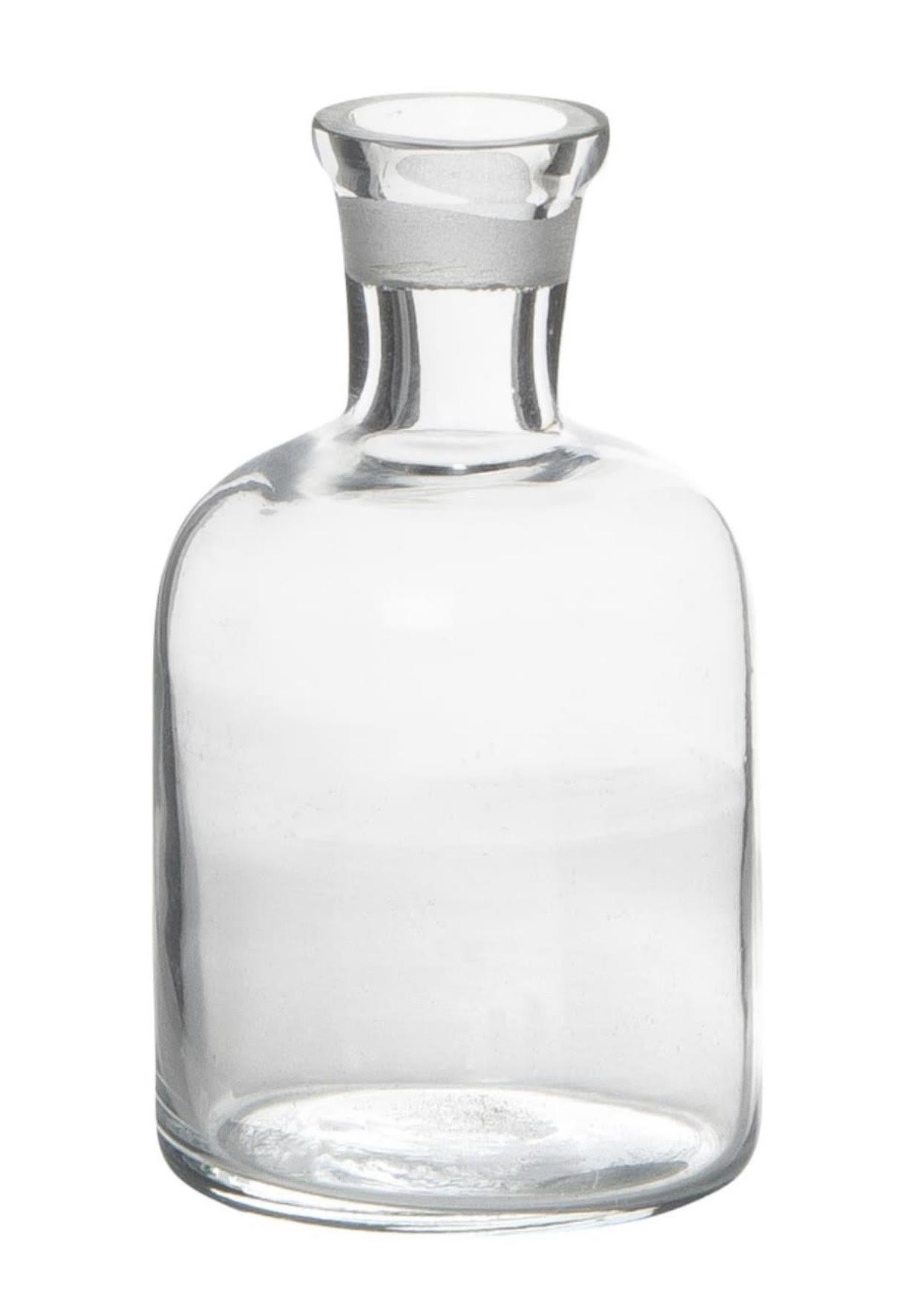 Glass dinner candle holder/vase