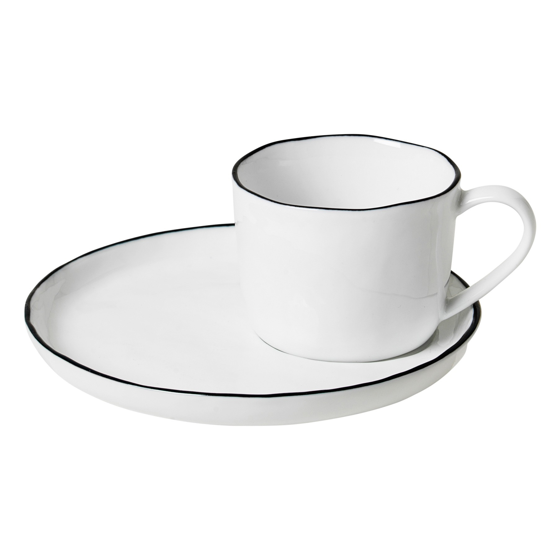 Cup and Saucer (S) - Broste SALT