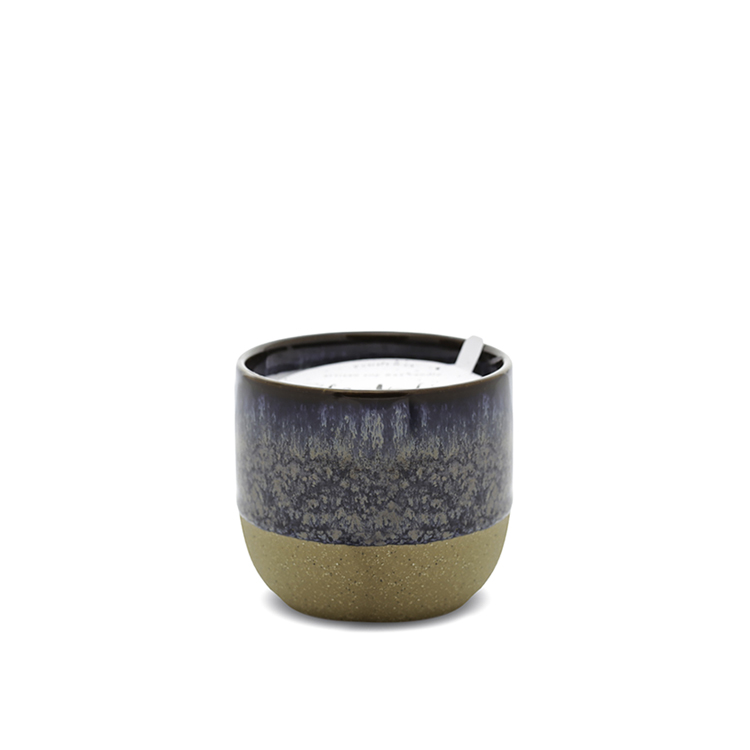 Ceramic 6oz candle -  Black fig + Rose