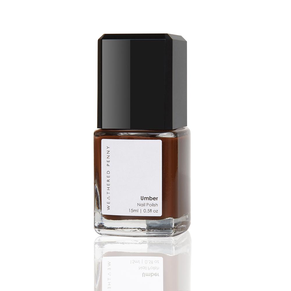 Non Toxic Nail Varnish -  Umber