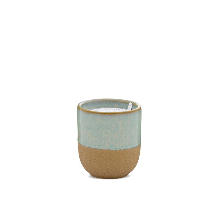 Ceramic 3.5oz candle - Matcha Tea & Bergamot