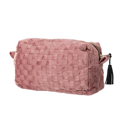 Velvet Rose Tassle Cosmetics bag