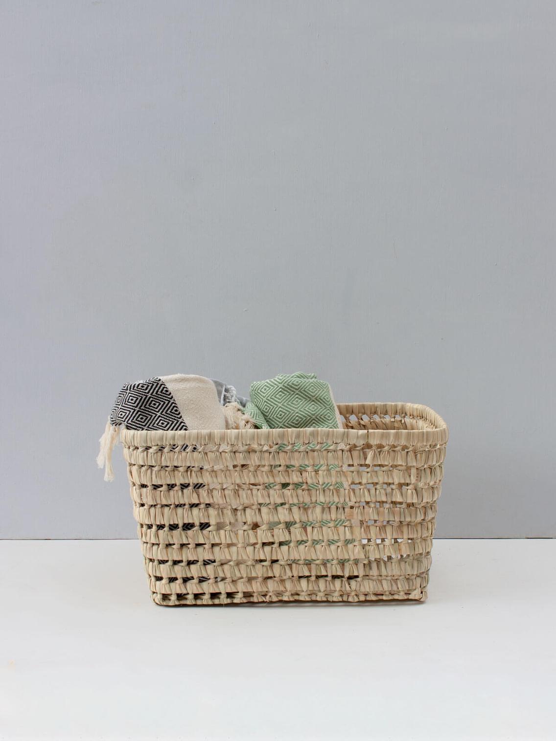 Open weave storage basket MEDIUM